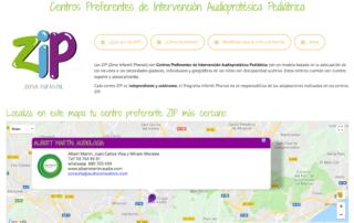 Centros Preferentes de Intervención Audioprotésica Pediátrica